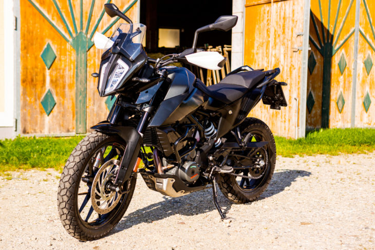 KTM 390 Adventure Prototype Review in Cycle News by Alan Cathcart