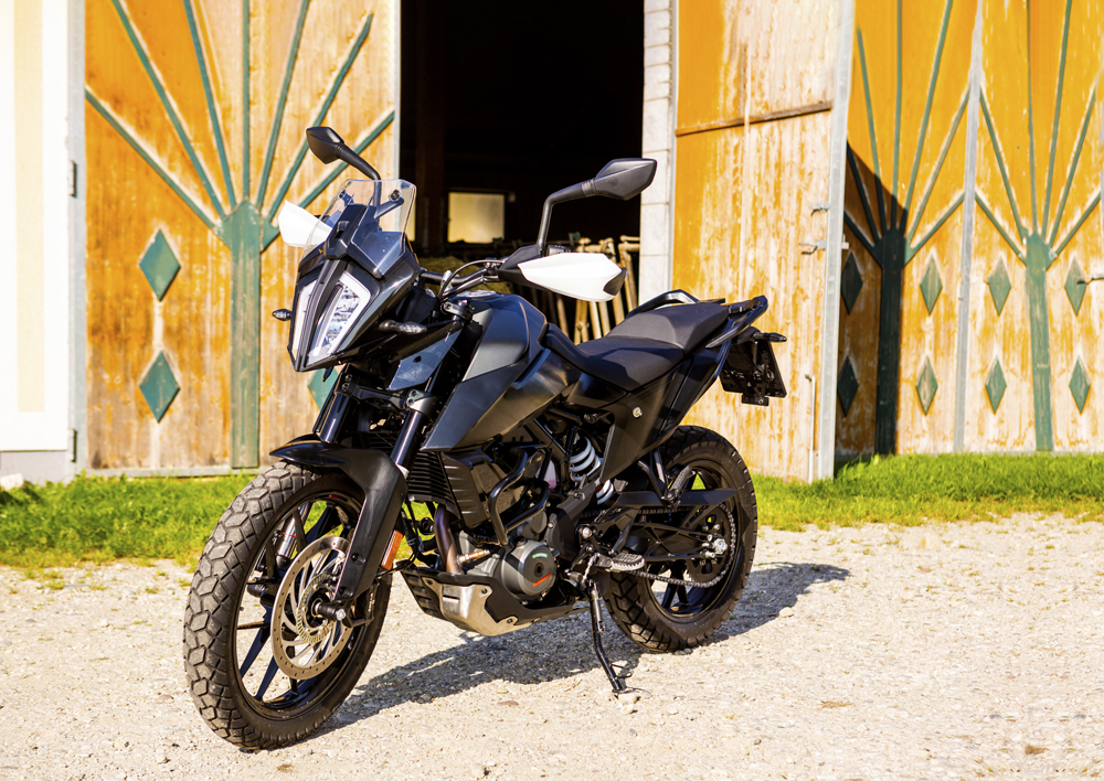 KTM 390 Adventure Prototype Review. Just like the brothers, only smaller.