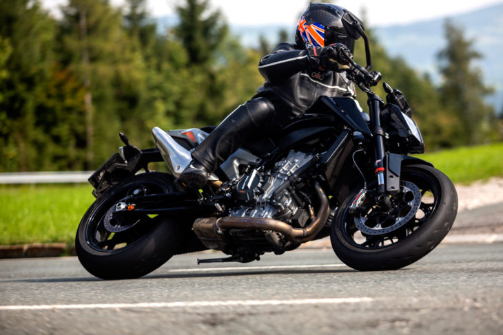 2020 KTM 890 Duke R Review - Cycle News has the world exclusive first ride on the 2020 KTM 890 Duke R.
