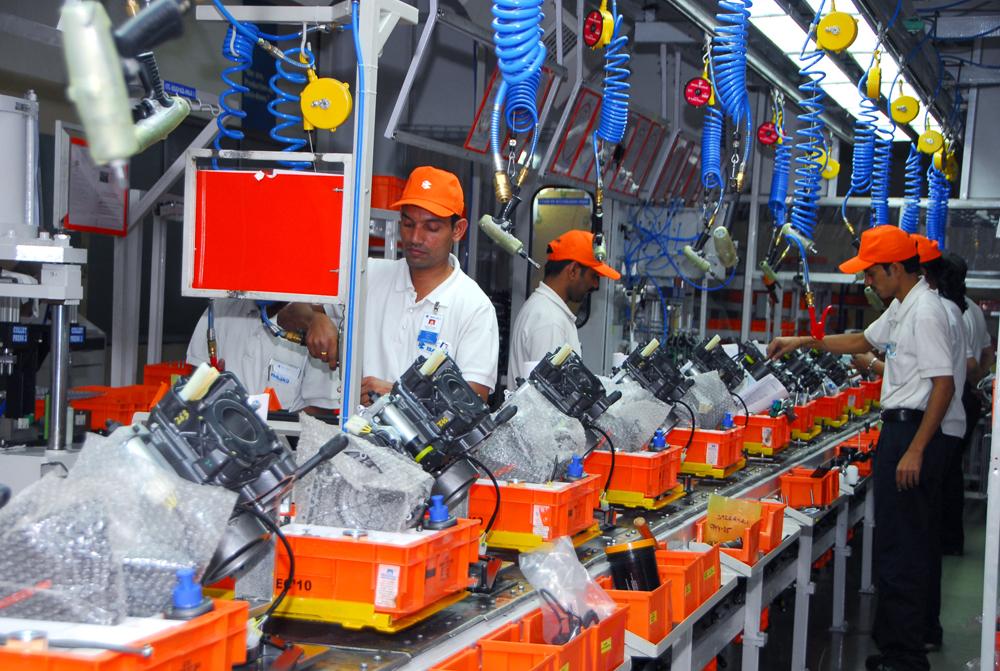KTM Bajaj factory in India