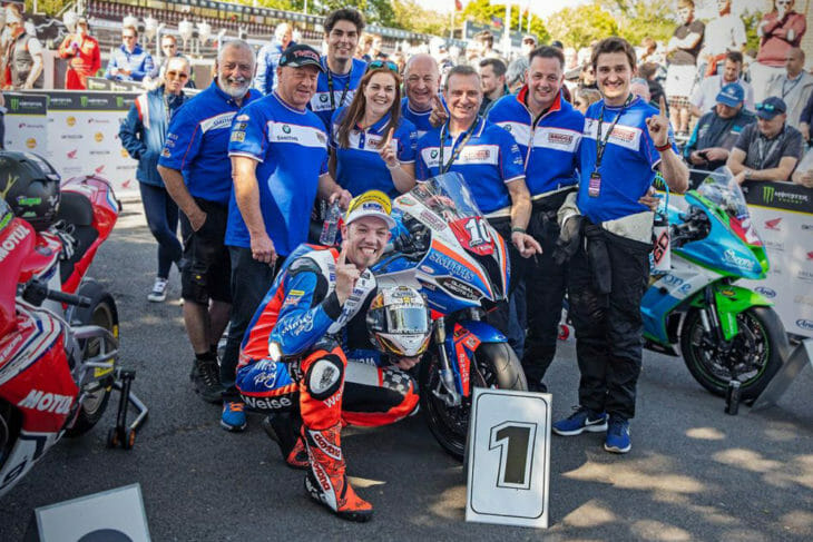 Peter Hickman's Smiths Racing team have been promoted to Official BMW Motorrad team for the 2020 International Road Racing season.