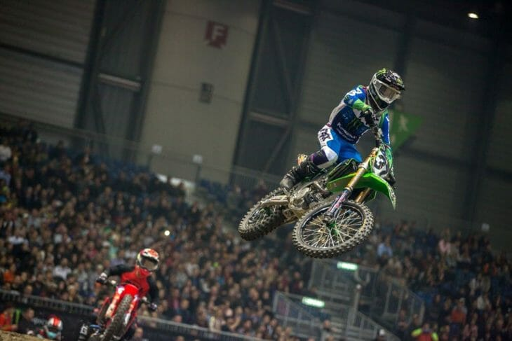 2019 Geneva Supercross Results Martin Davalos Action night one
