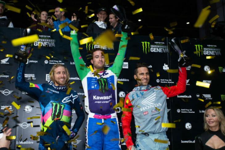 2019 Geneva Supercross Results Podium night one