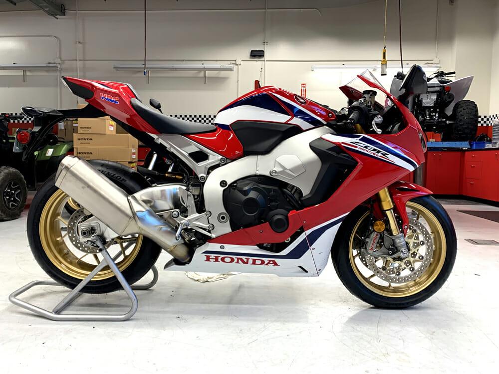 2019 Honda CBR1000RR SP Specifications