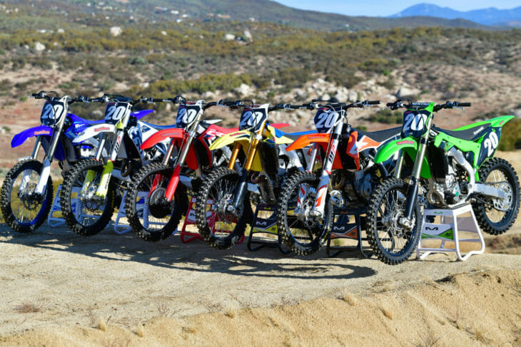 Cycle News has a top-to-bottom assessment of the 2020 250cc four-stroke motocross field in its 2020 250cc Four-Stroke Motocross Shootout.