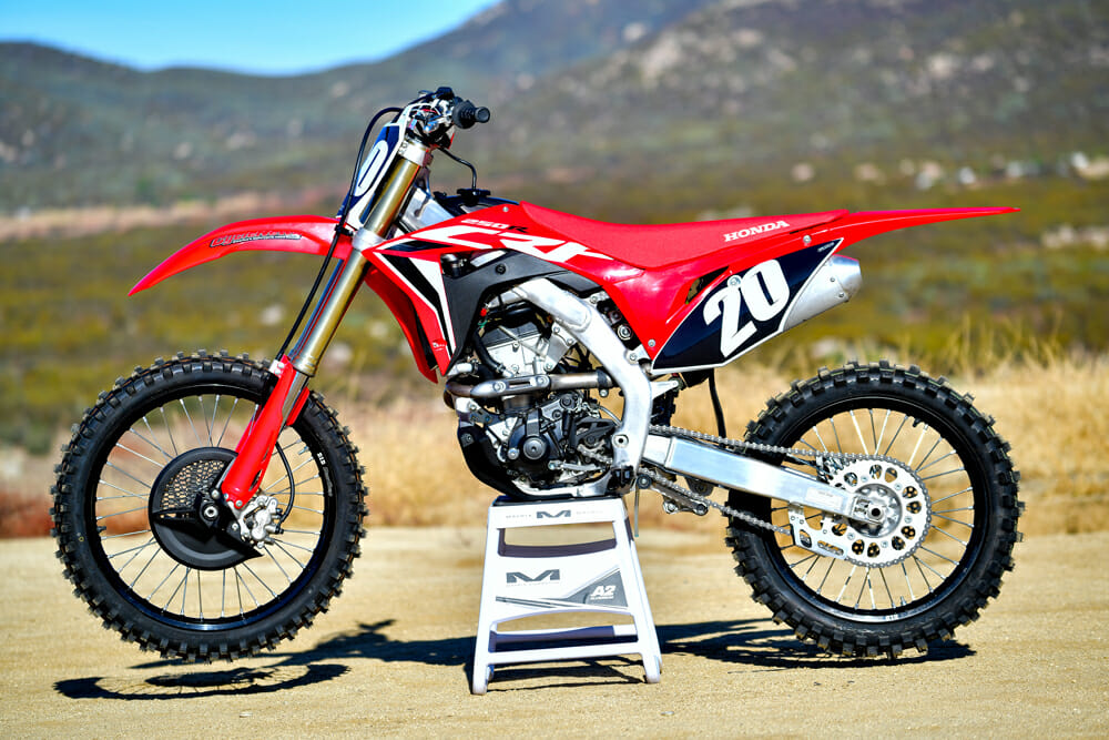 2020 250cc four-stroke motocross shootout - cycle news