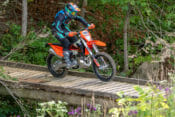 We went enduro racing with the 2020 KTM 250 XC-W TPI two-stroke in the Little Raccoon National Enduro to see how it competes.