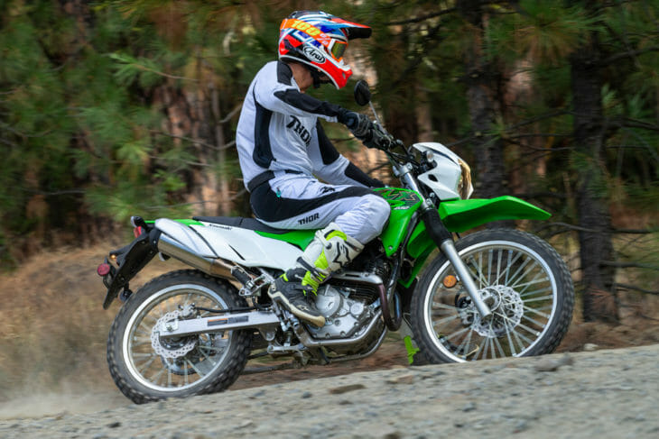 2020 Kawasaki KLX230 Review   The KLX250 dual sport now has a little brother to play around with in the all-new KLX230.