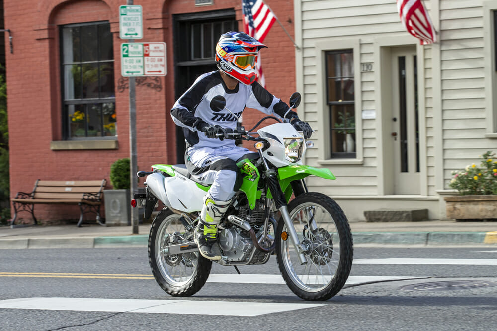 2020 Kawasaki KLX230 Review | The KLX250 dual sport now has a little brother to play around with in the all-new KLX230.