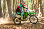2020 Kawasaki KLX230R Review | The new KLX230R is an excellent entry-level motorcycle that will double-up as a remarkably capable off-road fun machine for the experienced rider.