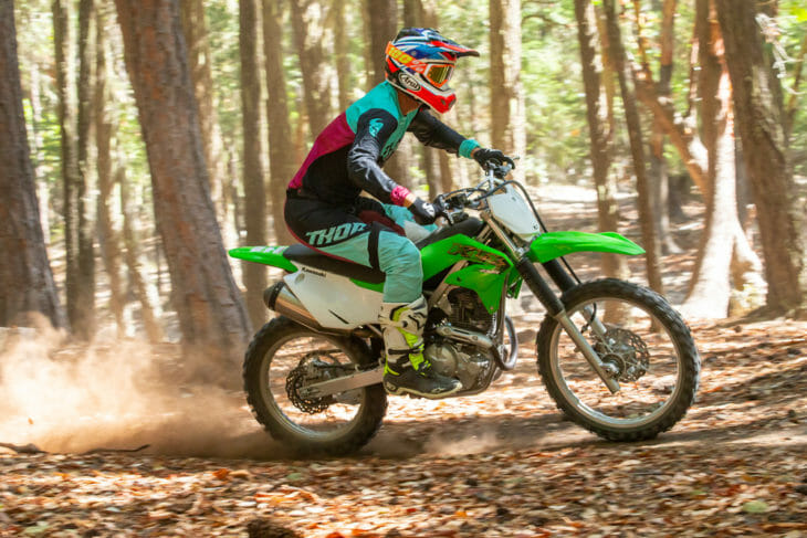 2020 Kawasaki KLX230R Review   The new KLX230R is an excellent entry-level motorcycle that will double-up as a remarkably capable off-road fun machine for the experienced rider.