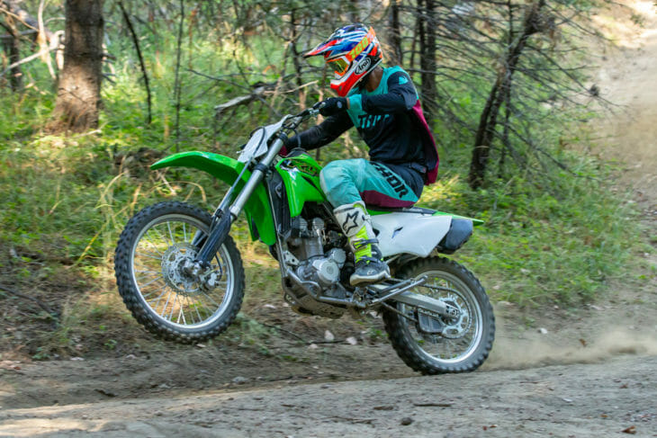 2020 Kawasaki KLX300R Review   The new KLX300 can trace some of its roots back to the '90s, but it features several important technological advances over the older 300.