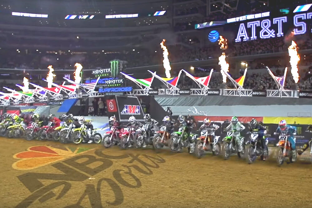 2020 Monster Energy Supercross Tv Schedule Announced Cycle News