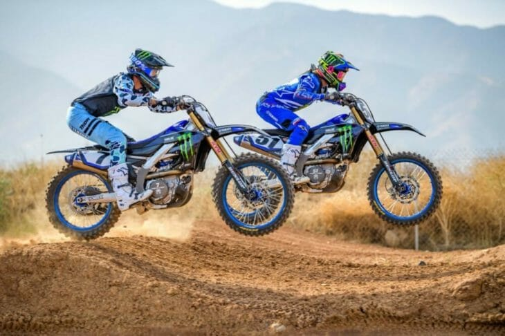 2020 Monster Energy Yamaha Factory Team