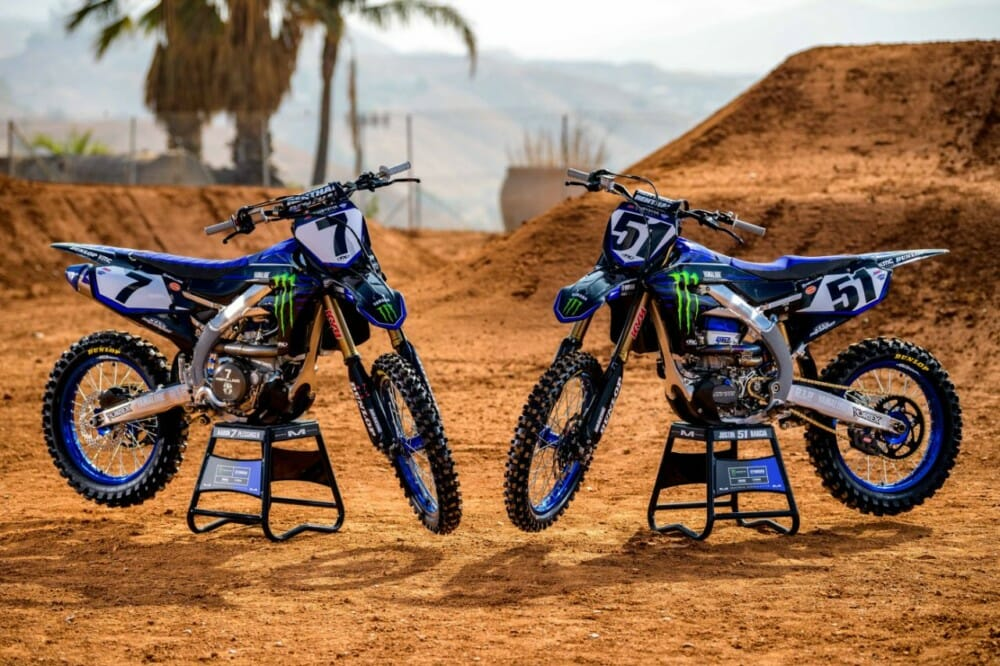 2020 Monster Energy Yamaha Factory Team