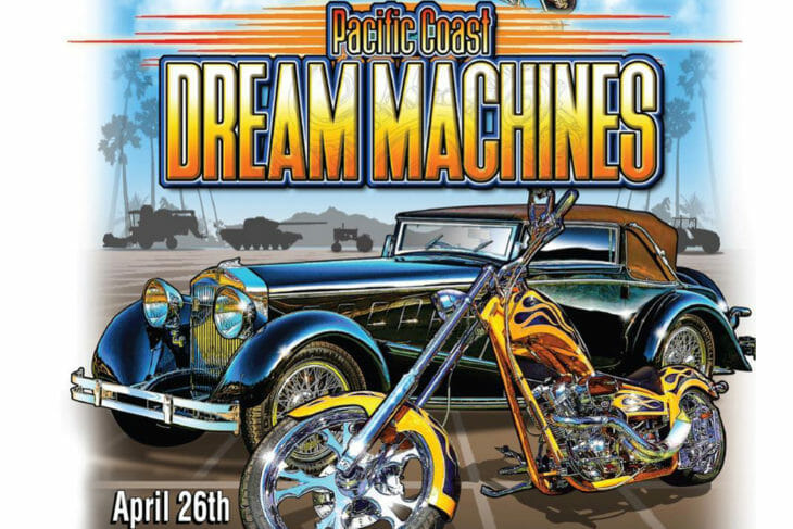 30th Pacific Coast Dream Machines Show, April 26, 2020