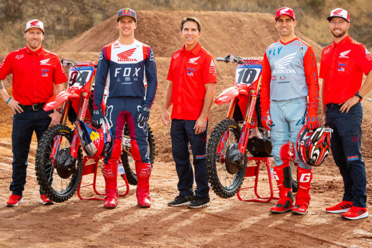 Honda Presents 2020 AMA Supercross, Arenacross Teams