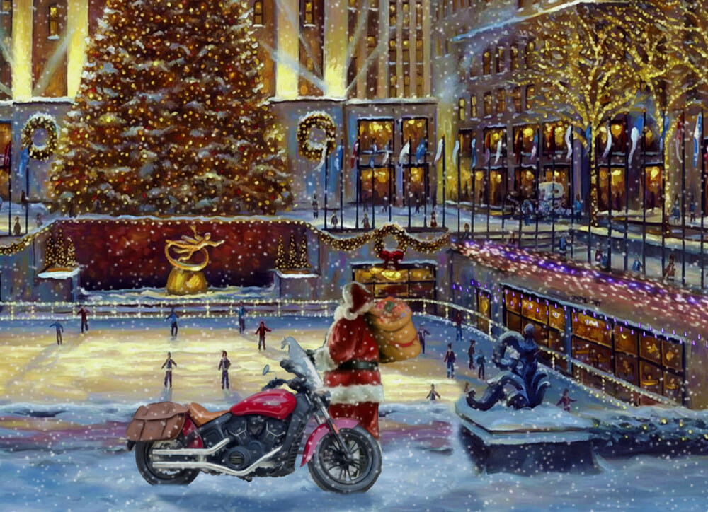 AMA Hall of Fame Holiday Cards