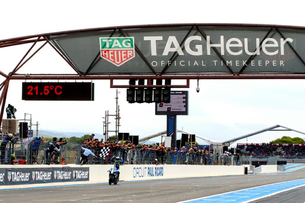The Suzuki Endurance Racing Team comes home to take the win.