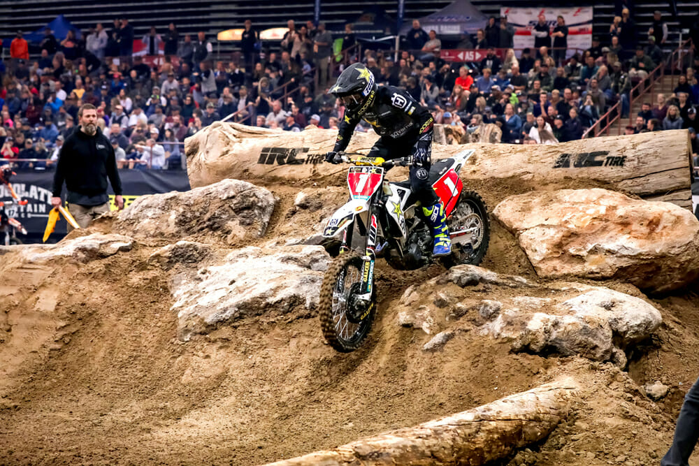 Extreme off-road arena racing is Colton Haaker's specialty, and EnduroCross has been the core of his career.