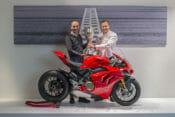 Ducati Presented With 2019 British Superbike Championship Winning Manufacturer Trophy
