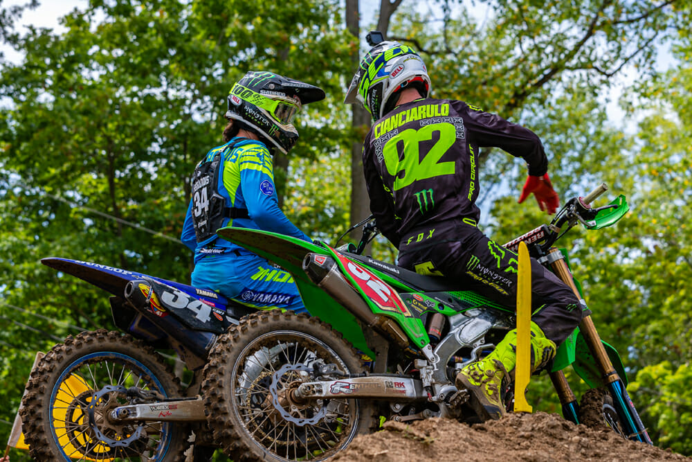 Adam Cianciarulo's nemesis all year was Frenchman Dylan Ferrandis, who edged him out of the 250SX West Supercross Championship.