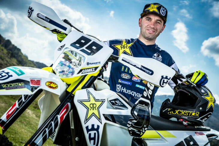 Husqvarna Motorcycles Extends Contract With Alfredo Gomez