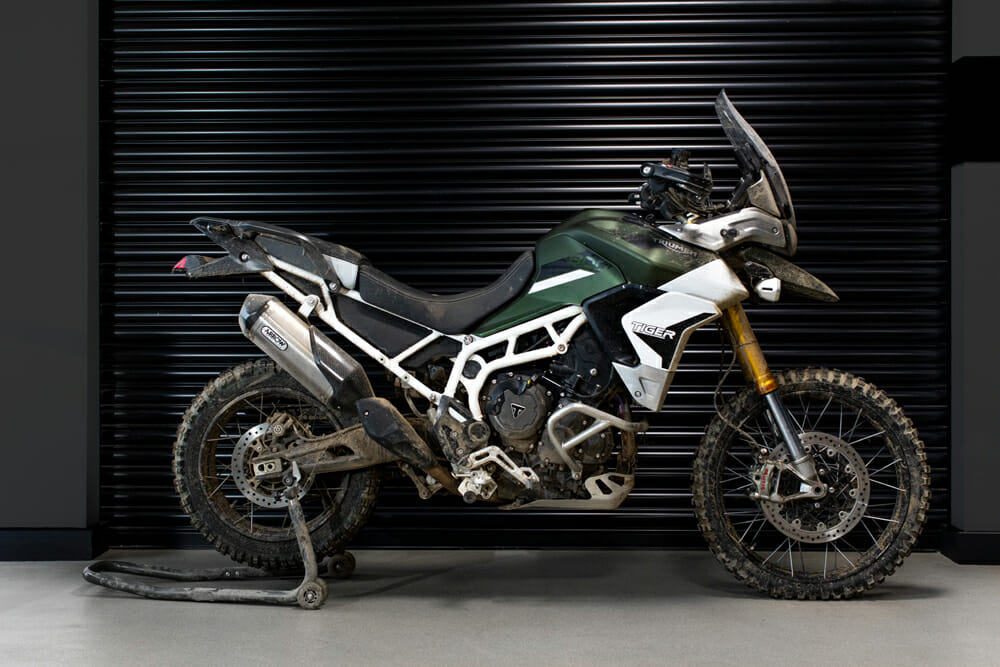 The Triumph Tiger 900 will be featured in the No Time To Die Bond movie.
