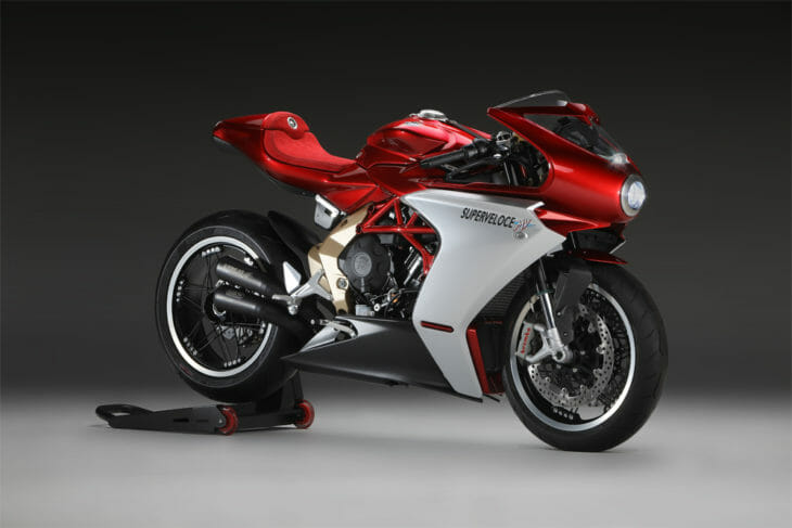 MV Agusta Superveloce 800 Wins Excellence of Lombardy's Design