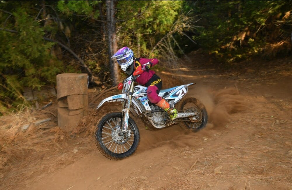 McKenna Cheff, out of Washington, finished 2nd on the Women podium and first in the Women A class.