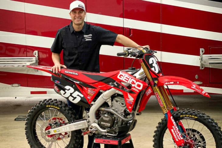 Ryan Dungey Joins Geico Honda As Part Owner