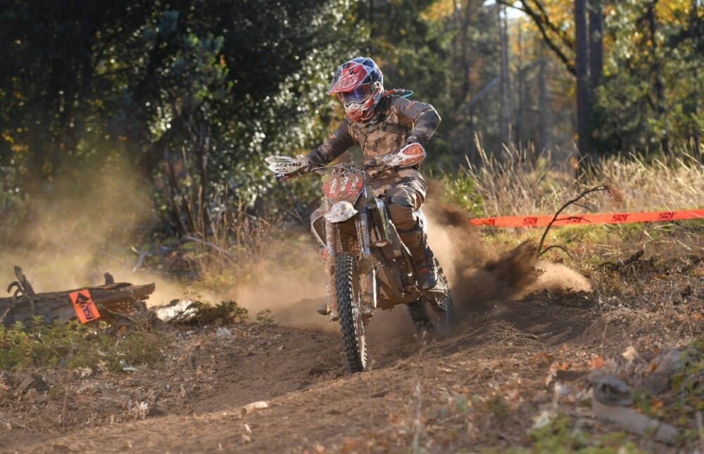 Seth Sadorra had an incredible 2019 race season racing alongside some of the best youth off-road racers on the west coast and would finish his year off by taking home the 2019 AMA West Hare Scramble Big Wheel Championship title.