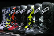 The Sidi Atojo SR MX boots are brand new for 2020. The Atojo is designed to be light, sleek and give the rider excellent bike control.