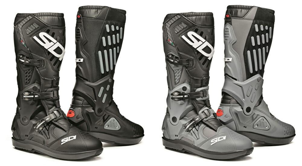 Sidi Atojo SR boots in black and gray