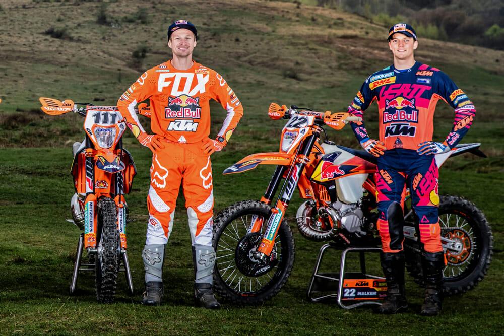 Taddy Blazusiak and Jonny Walker Ready to Race 2020 SuperEnduro Series Round One