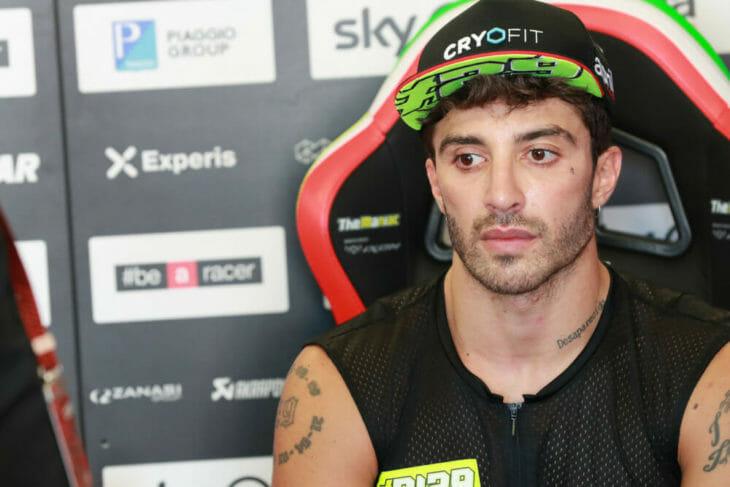 Andrea Iannone test positive