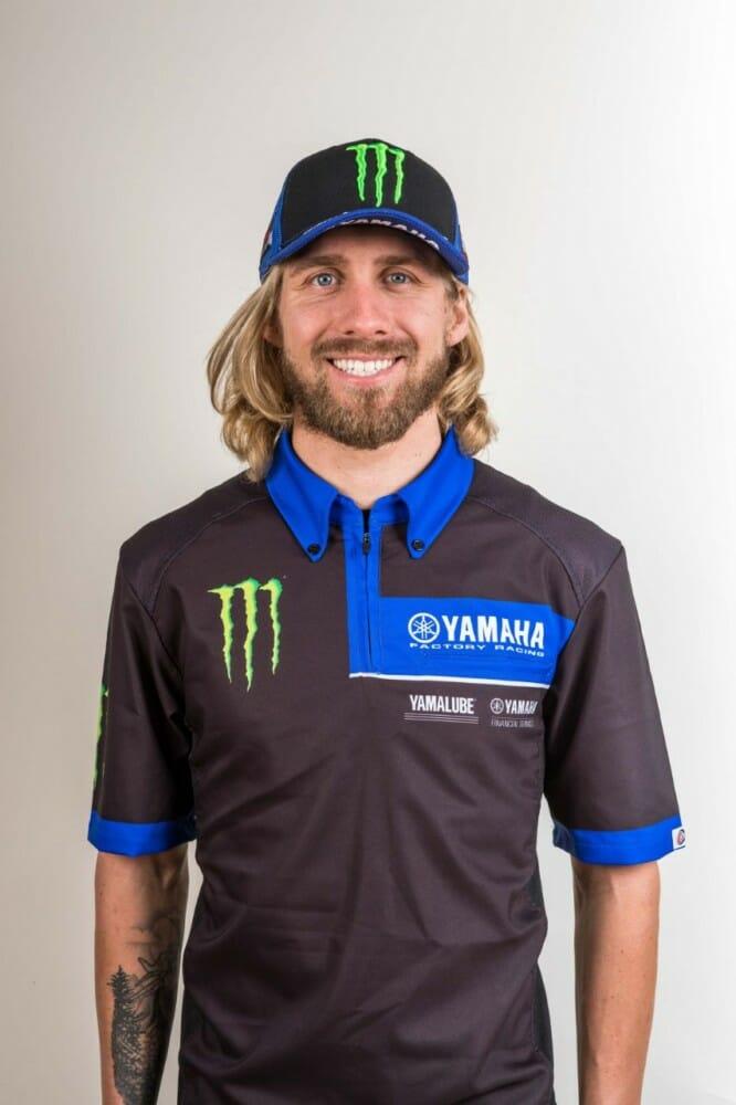 Justin Barcia | Monster Energy Yamaha Factory Racing Team