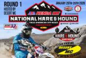 2020 AMA Hare & Hound Season Opener This Weekend | The Desert MC Winter Classic, round one of the National Hare & Hound series, is this weekend in Lucerne.