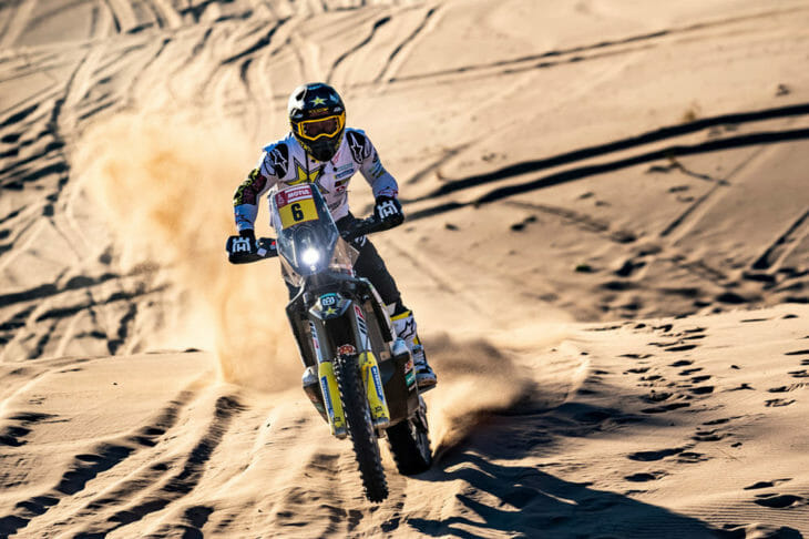 2020 Dakar Rally Results Andrew Short Day 1 action