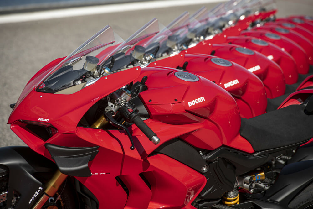 2020 Ducati Panigale V4 Now in Ducati Dealers