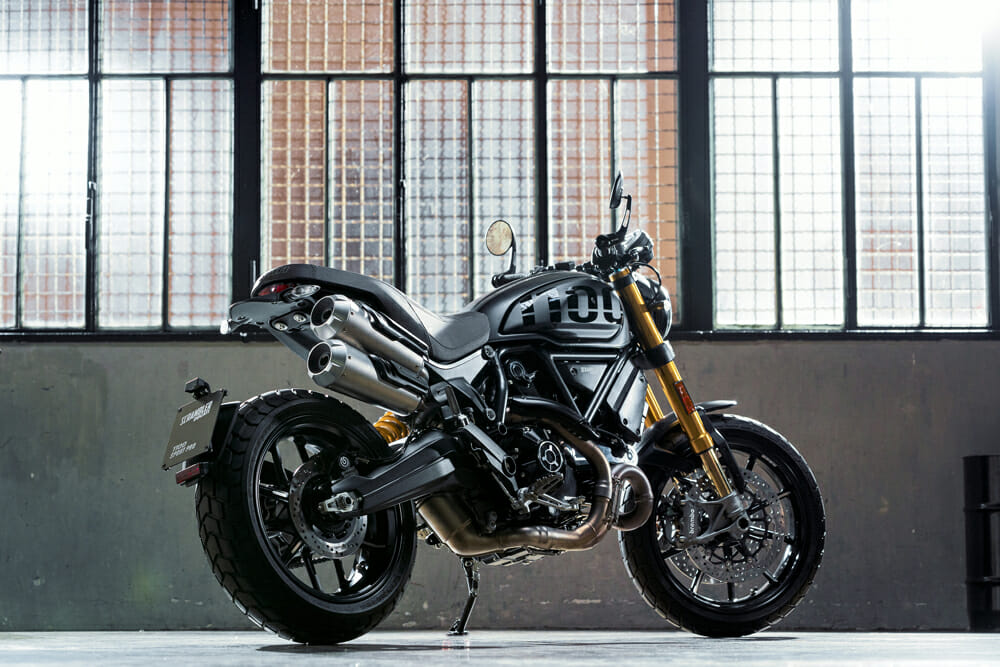 2020 Ducati Scrambler 1100 PRO and 1100 Sport PRO