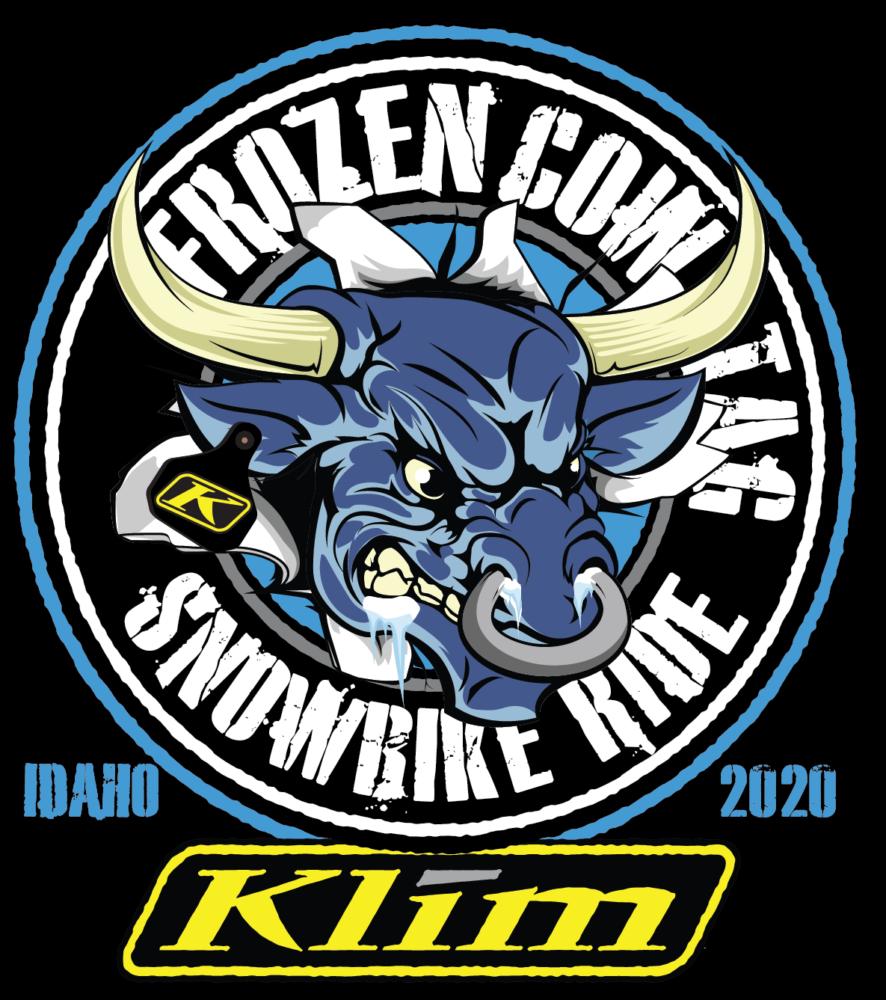 KLIM Frozen Cow Tag Snowbike Ride