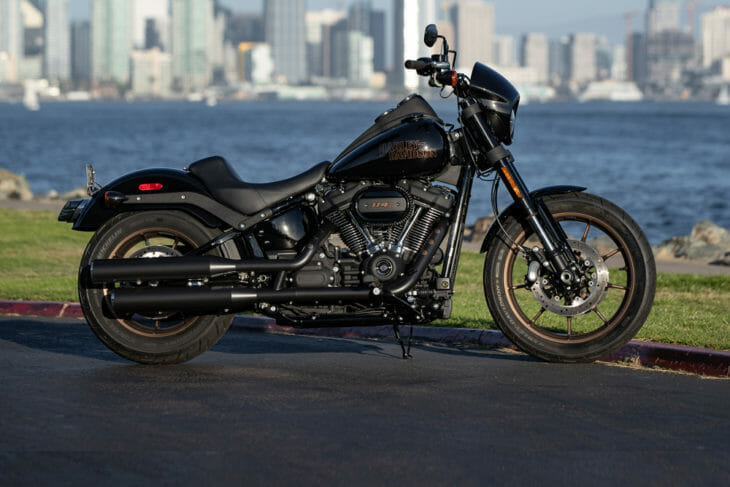 Cycle News 2020 Harley-Davidson Lineup Review, featuring the 2020 H-D Low Rider S.