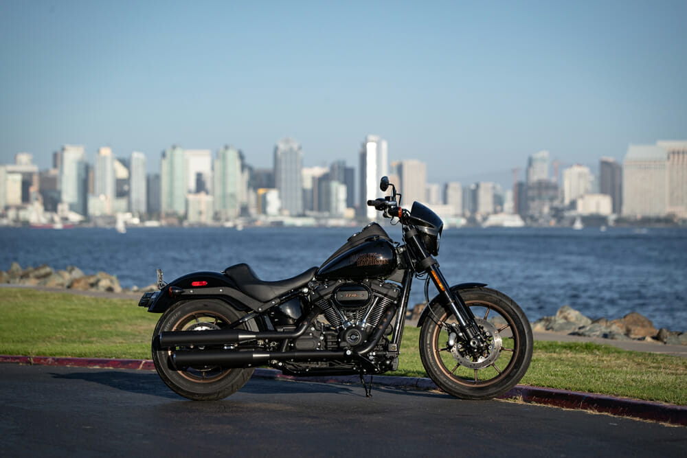 The 2020 Harley-Davidson Low Rider S is equipped with 114 c.i. of Milwaukee muscle.