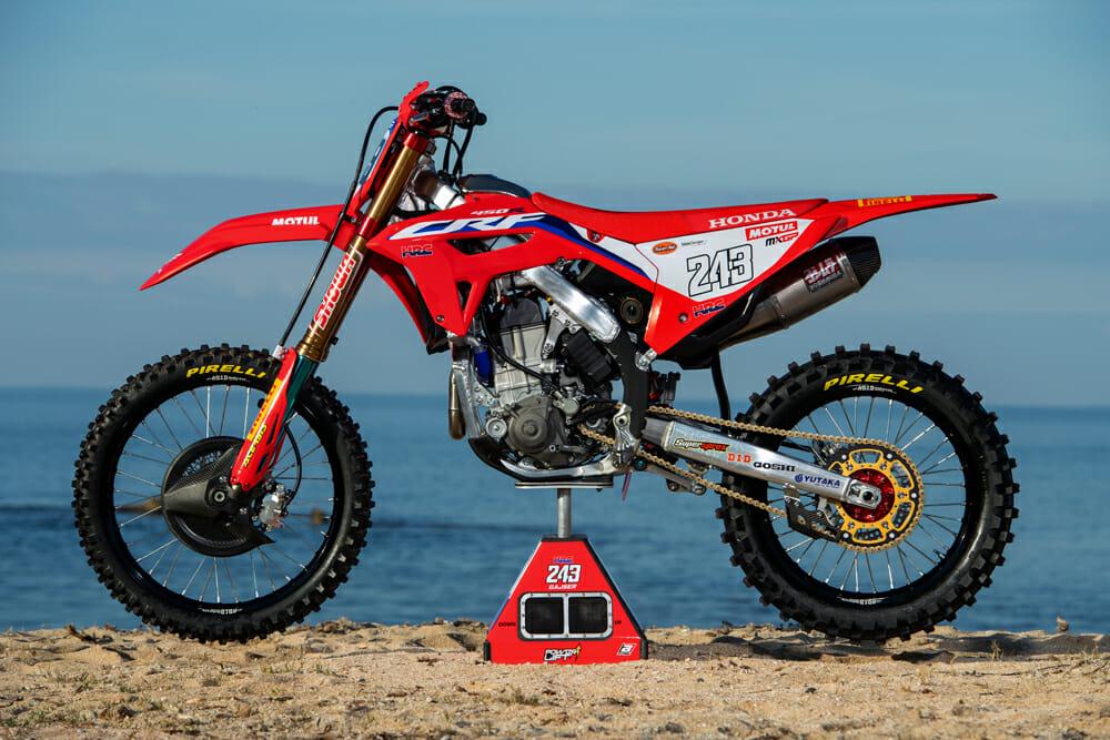 Tim Gajser's 2020 Honda CRF450RW