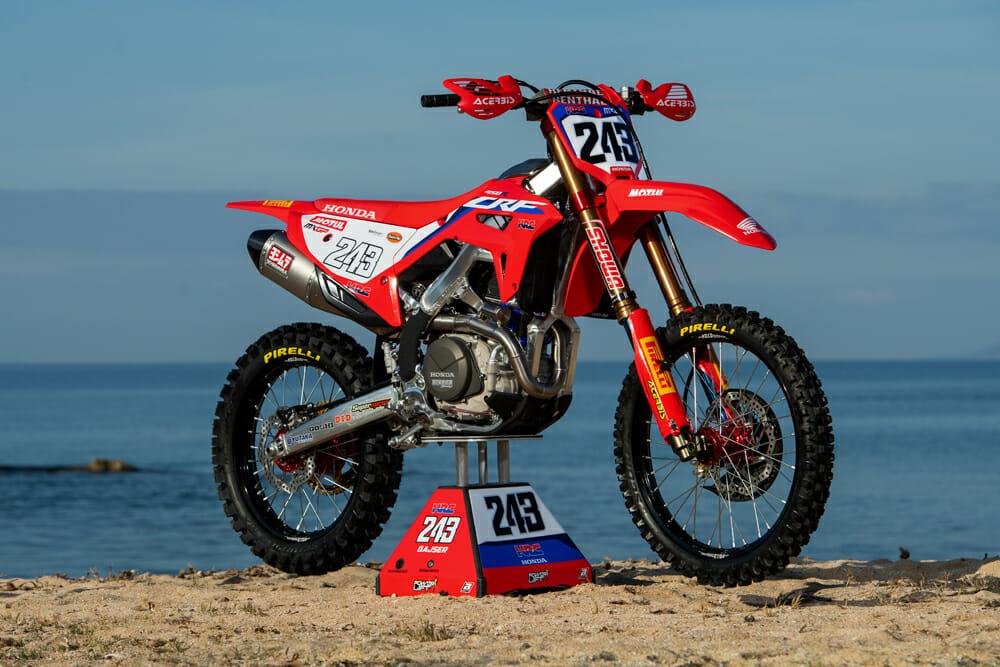 2020 Honda CRF450RW