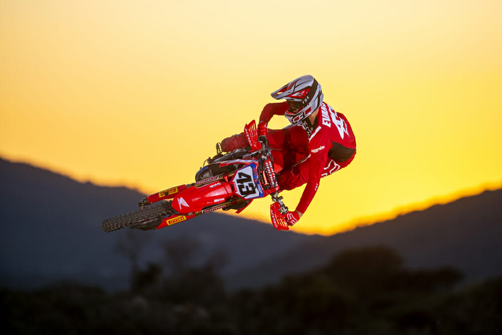 Mitch Evans ready for 2020 MXGP with new Honda CRF450RW