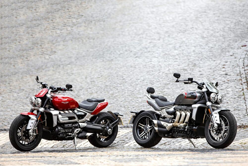2020 Triumph Rocket 3 R and 2020 Triumph Rocket 3 GT