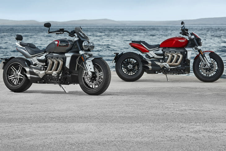 2020 Triumph Rocket 3 R & GT Specifications