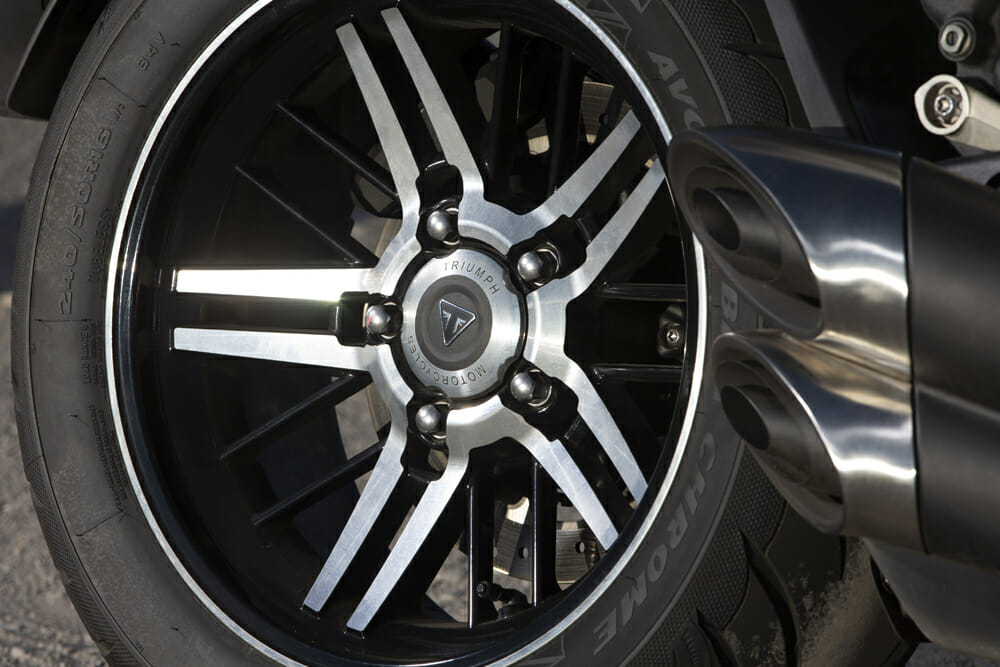2020 Triumph Rocket 3 GT rear wheel